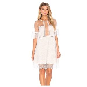 NWOT KENDALL + KYLIE PANEL LACE BABYDOLL DRESS